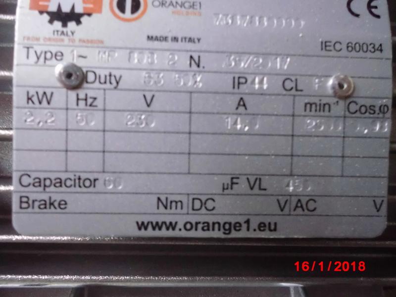 Branchement pour invertion de rotation d un moteur monophasé Cimg1412