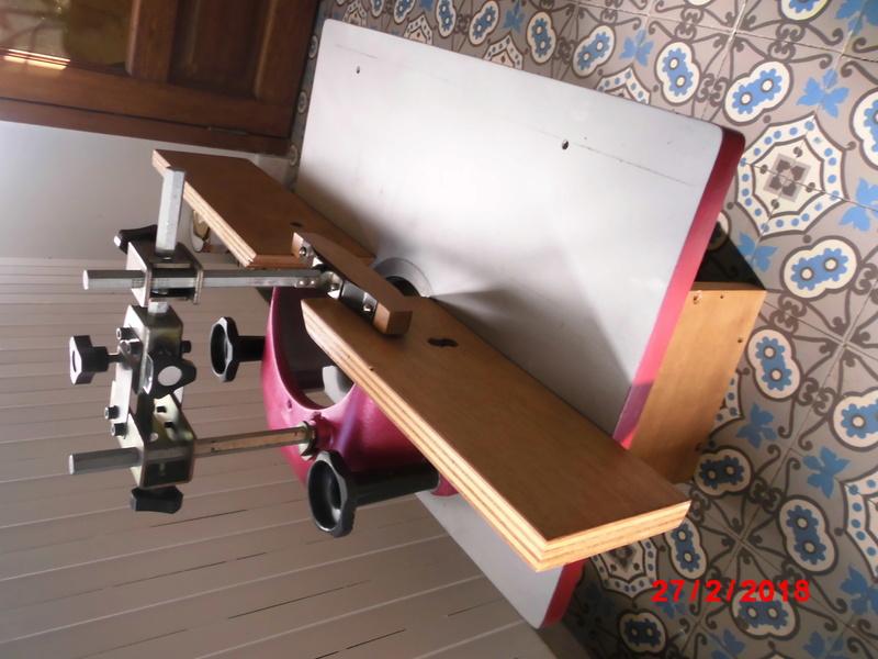 différentes machines à bois, Lurem c 200 junior , dégau/rabot , toupie  Cimg1613