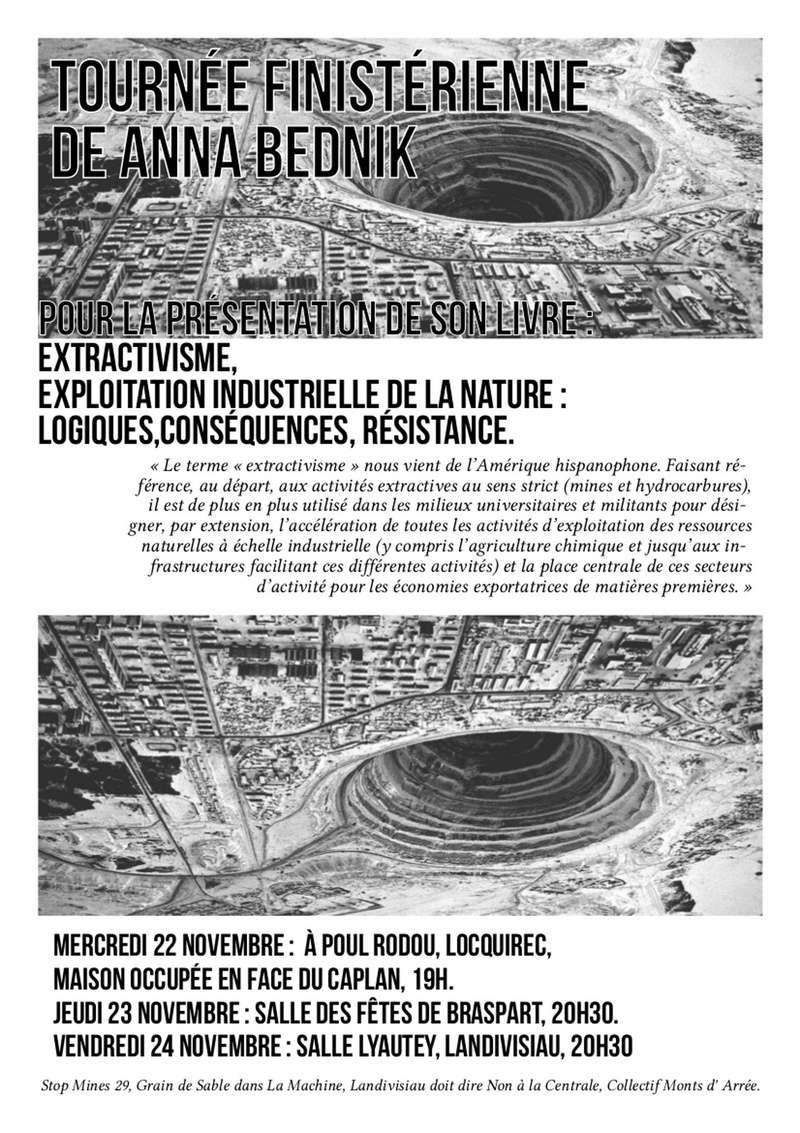Extraction minière - Conférence d'Anna Bednik le Jeudi 23/11 à 20h30 Aff10