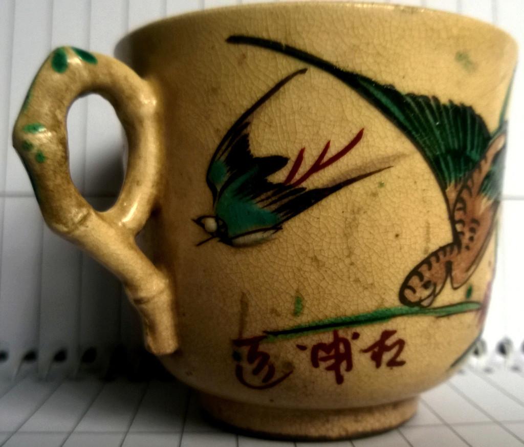 Japanese kinkozan pottery  Cup_ma10