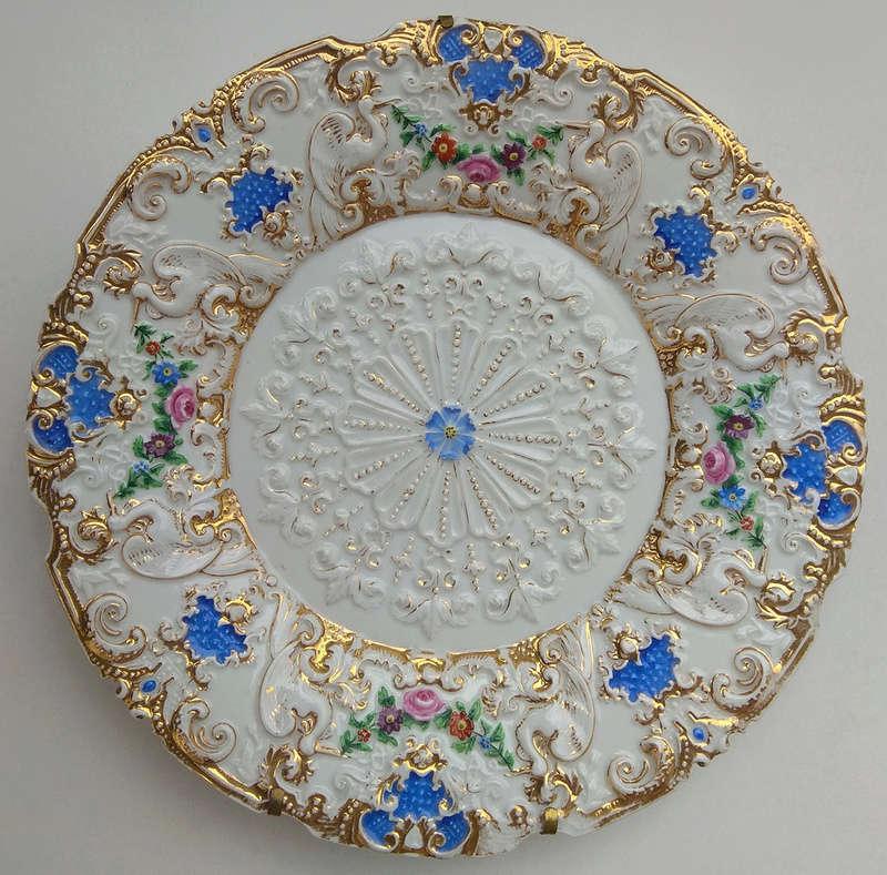Help ID plate (Meissen?) Front17