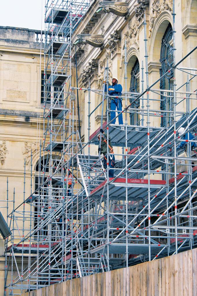 La restauration de la chapelle royale du château de Versailles 11111