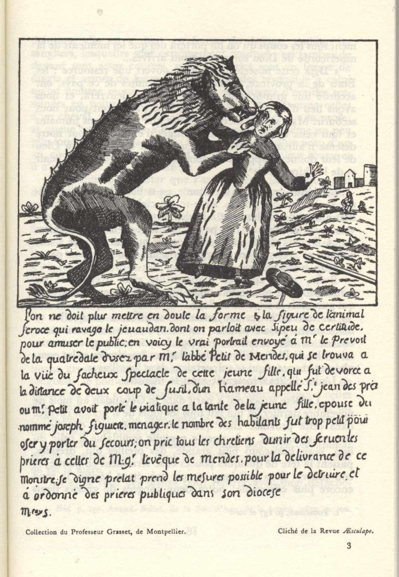 La bête du Gévaudan 1121