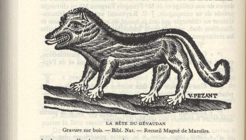 La bête du Gévaudan 1124
