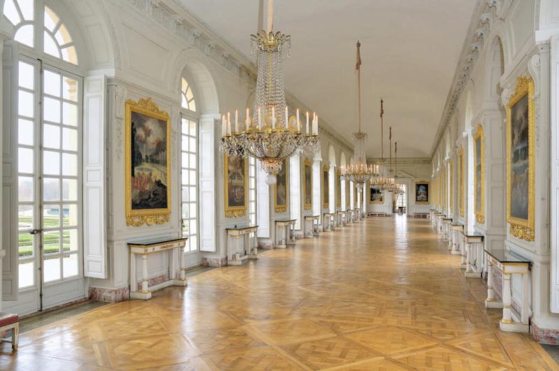 """Exposition au Grand Trianon, """" des Jardins et des Dieux """",  Jean Cotelle 1303"""
