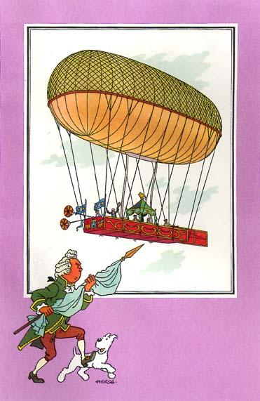 La conquête de l'espace au XVIIIe siècle, les premiers ballons et montgolfières !  - Page 7 1343