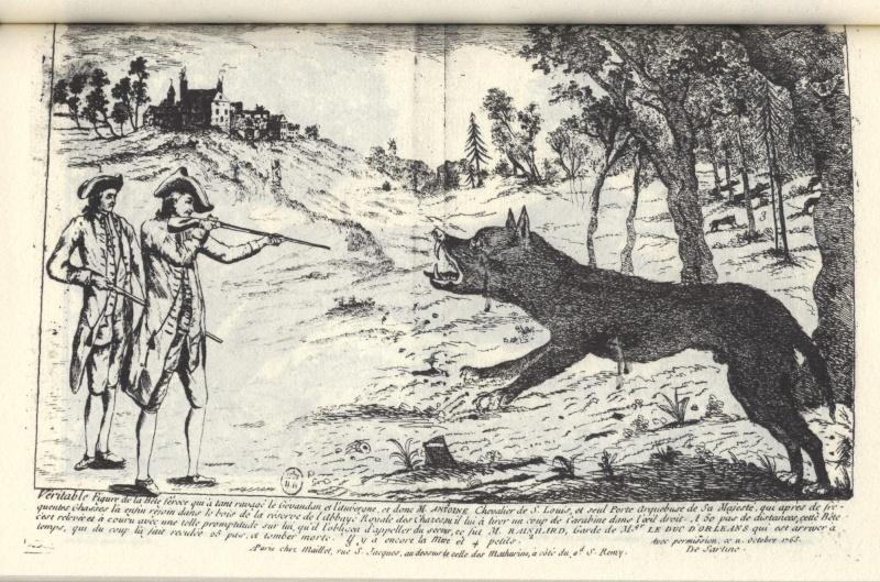 La bête du Gévaudan 1610