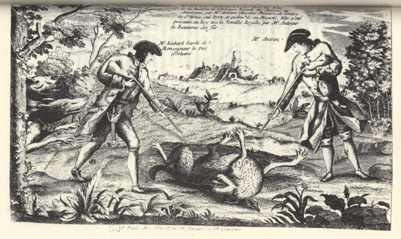 La bête du Gévaudan 1710