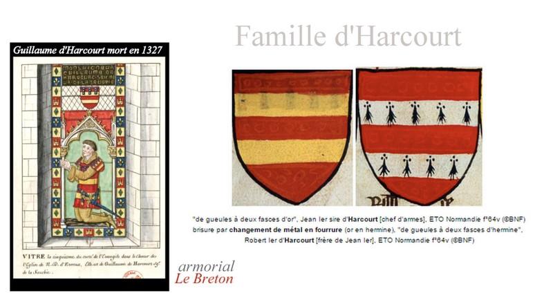 Le château d'Harcourt 1711