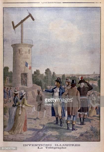 Claude Chappe invente le télégraphe 1717