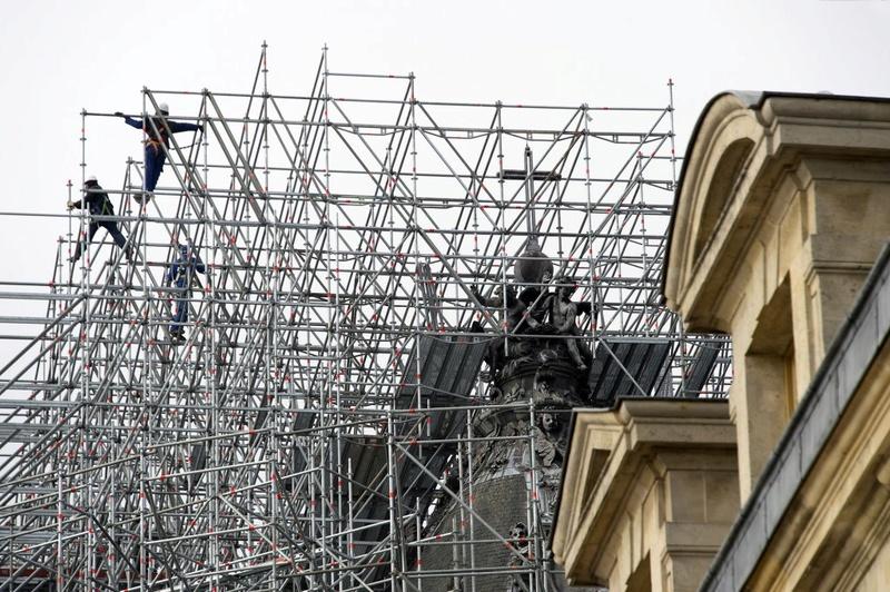 La restauration de la chapelle royale du château de Versailles 1728