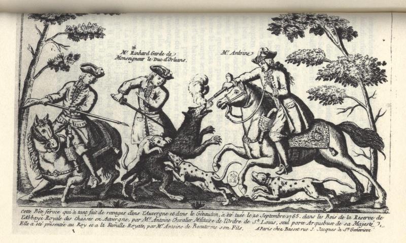 La bête du Gévaudan 1810
