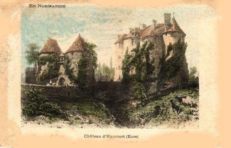 Le château d'Harcourt 1811