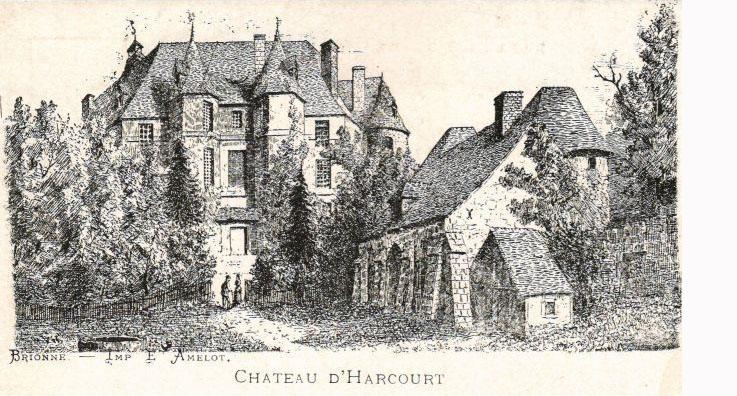 Le château d'Harcourt 1911