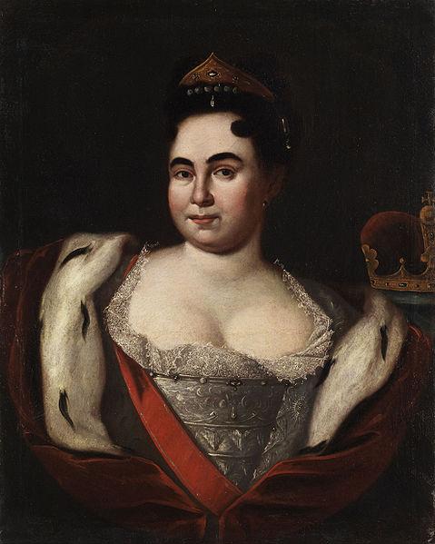 Catherine Ière de Russie 2128