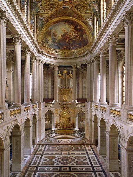 La restauration de la chapelle royale du château de Versailles 2176