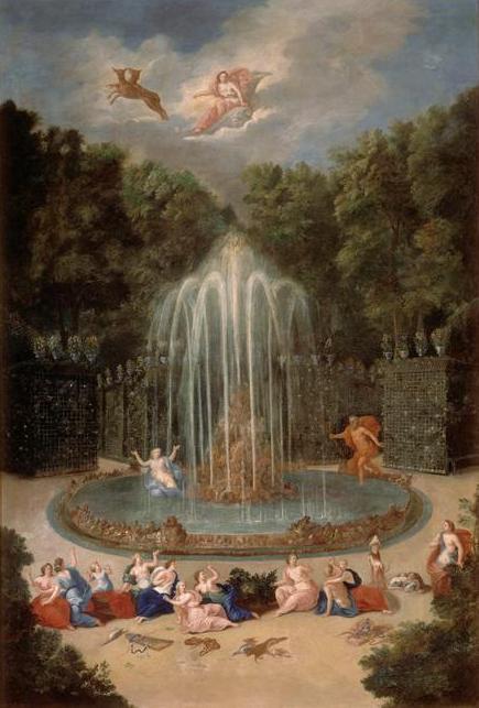 """Exposition au Grand Trianon, """" des Jardins et des Dieux """",  Jean Cotelle 2256"""