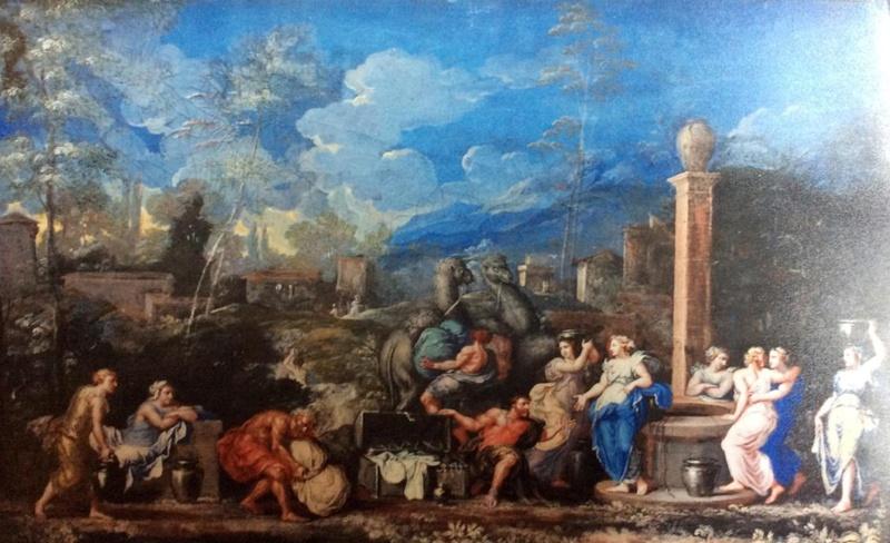 """Exposition au Grand Trianon, """" des Jardins et des Dieux """",  Jean Cotelle 2619"""