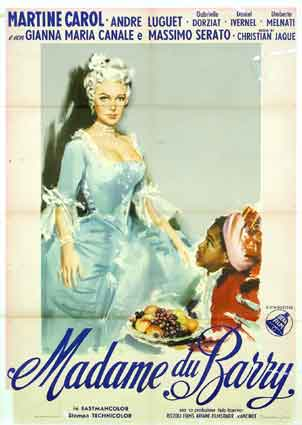 1954 -   « Madame du Barry »  film de Christian-Jaque  (  1954 ) 3134