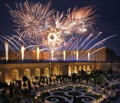 Marie-Antoinette, le destin d'une reine. Spectacle pyrotechnique, Orangerie du château de Versailles  3167