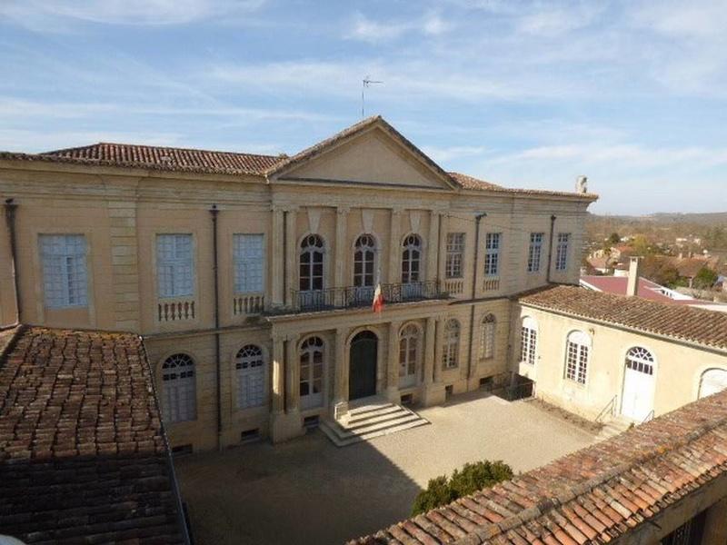 Polignac - L'Hôtel de Polignac (Condom, Gers) 3173