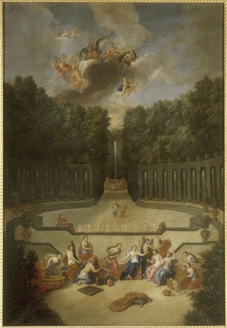 """Exposition au Grand Trianon, """" des Jardins et des Dieux """",  Jean Cotelle 3200"""