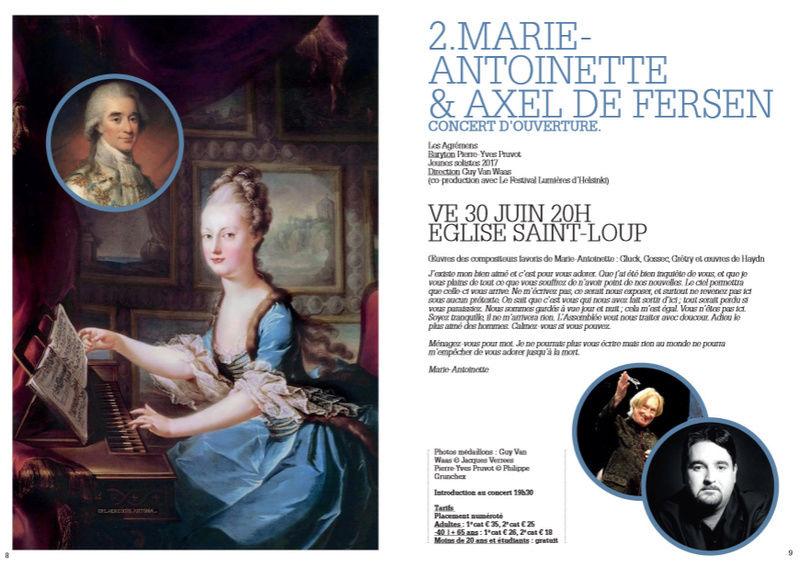 30 juin, église Saint-Loup, Marie-Antoinette & Axel de Fersen  494
