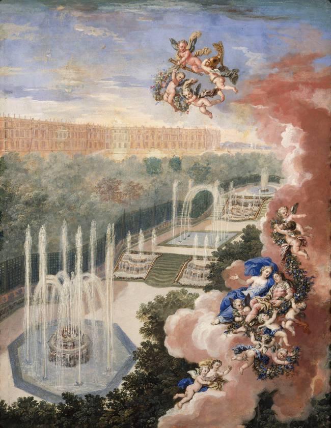 """Exposition au Grand Trianon, """" des Jardins et des Dieux """",  Jean Cotelle 5120"""