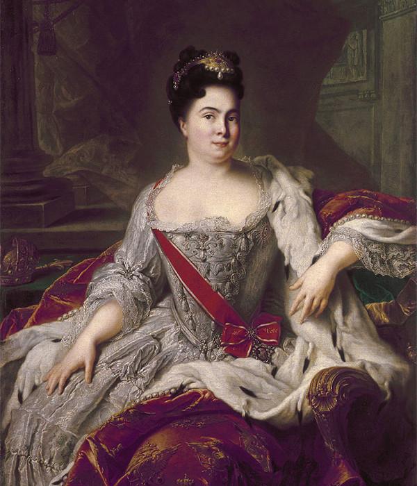 Catherine Ière de Russie 534