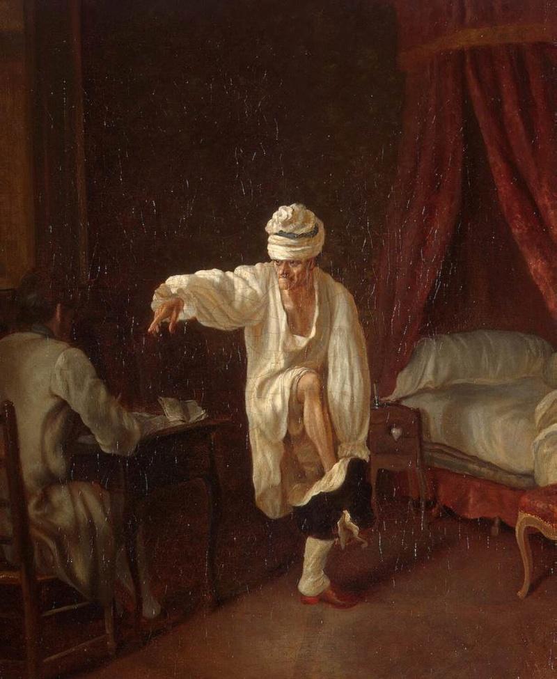 Catherine II  achète la bibliothèque de Voltaire 667