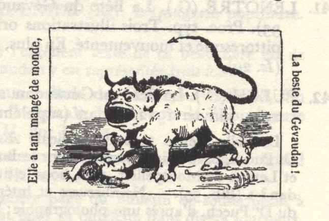 La bête du Gévaudan 910