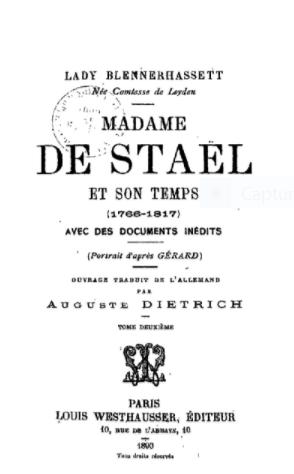 STAEL - Le divorce entre le baron de Staël et Gustave III Captu125