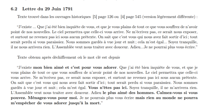 Evelyne Lever Fersen - D'Evelyne Lever, Le grand amour de Marie-Antoinette, lettres secrètes de la reine et du comte de Fersen Captu234