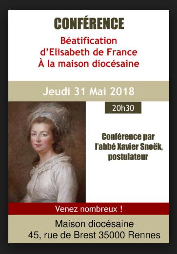 "Madame Elisabeth,  "" en marche "" vers la béatification Captu242"