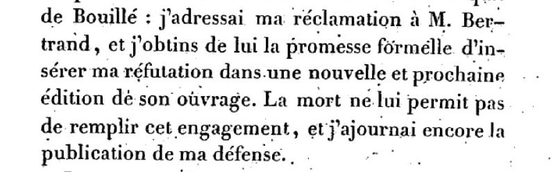 Mémoire du baron de Goguelat, sur les événements relatifs au voyage de Varennes Captu266