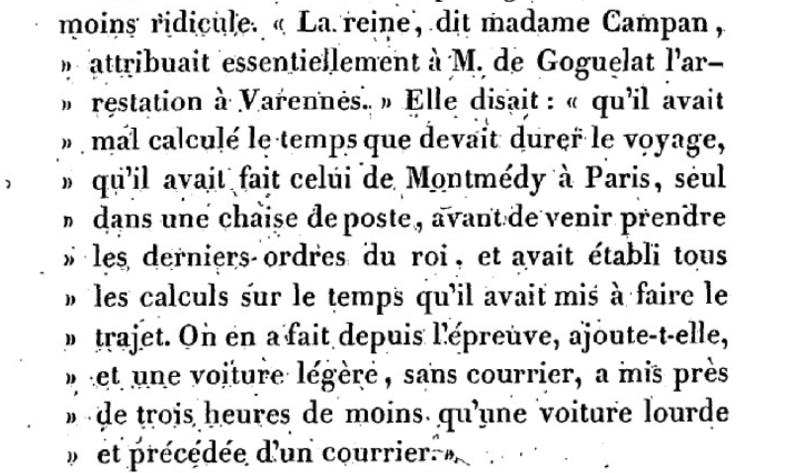 Mémoire du baron de Goguelat, sur les événements relatifs au voyage de Varennes Captu267