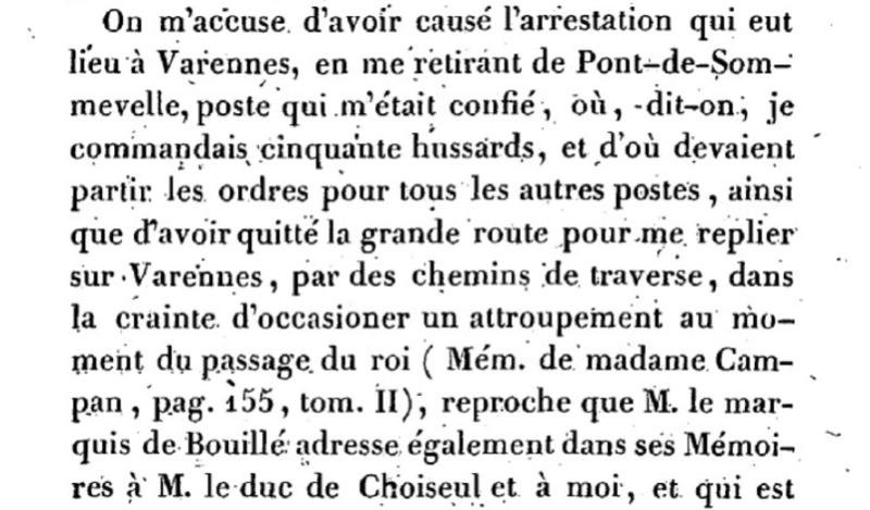 Mémoire du baron de Goguelat, sur les événements relatifs au voyage de Varennes Captu269