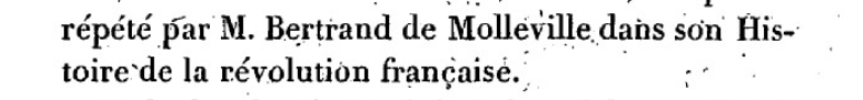 Mémoire du baron de Goguelat, sur les événements relatifs au voyage de Varennes Captu270