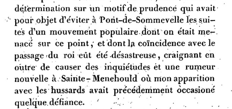 Mémoire du baron de Goguelat, sur les événements relatifs au voyage de Varennes Captu271
