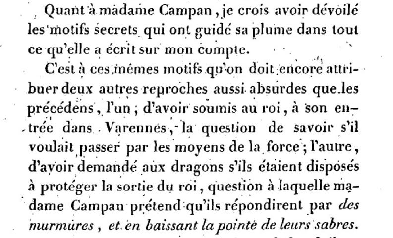 Mémoire du baron de Goguelat, sur les événements relatifs au voyage de Varennes Captu275