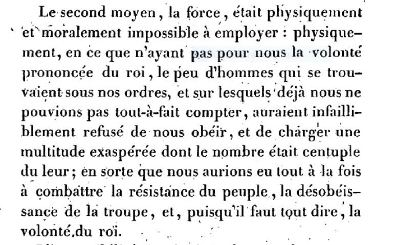 Mémoire du baron de Goguelat, sur les événements relatifs au voyage de Varennes Captu277