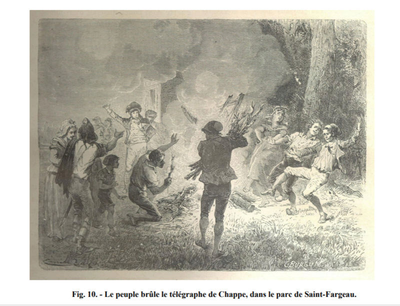 Claude Chappe invente le télégraphe Captur14