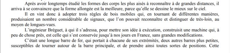 Claude Chappe invente le télégraphe Captur34