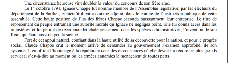 Claude Chappe invente le télégraphe Captur36