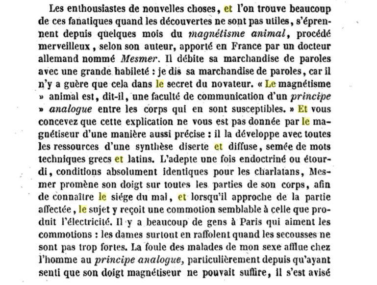 Le marquis de Puységur : magnétisme et hypnose au XVIIIe siècle Captur47