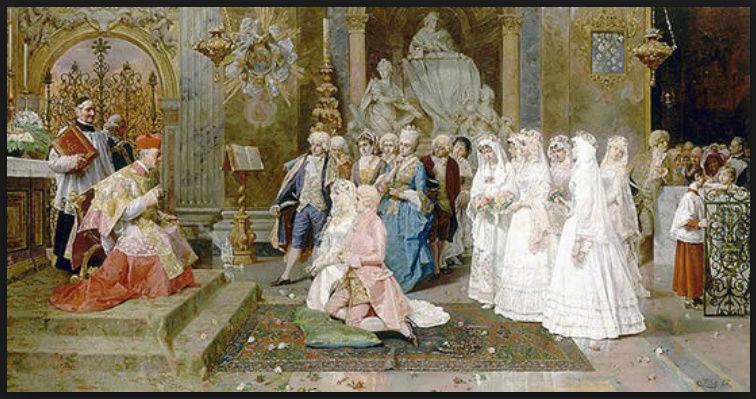 Le mariage, au XVIIIe siècle  - Page 6 Captur60