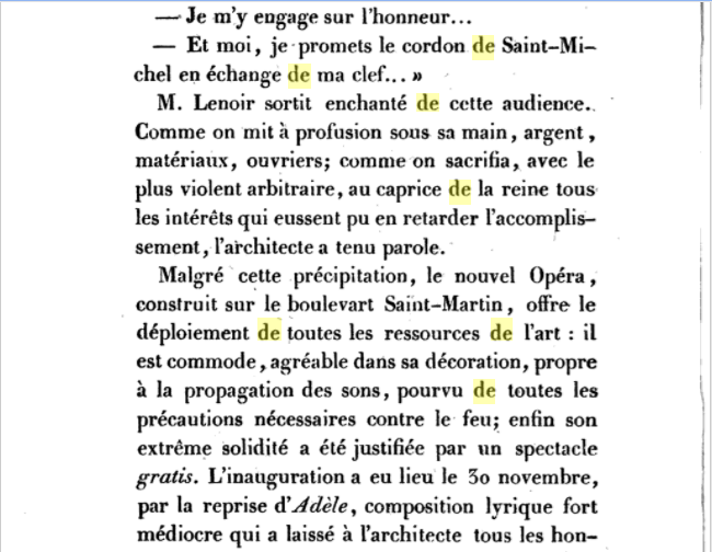 L'Opéra de la Porte Saint-Martin Captur78