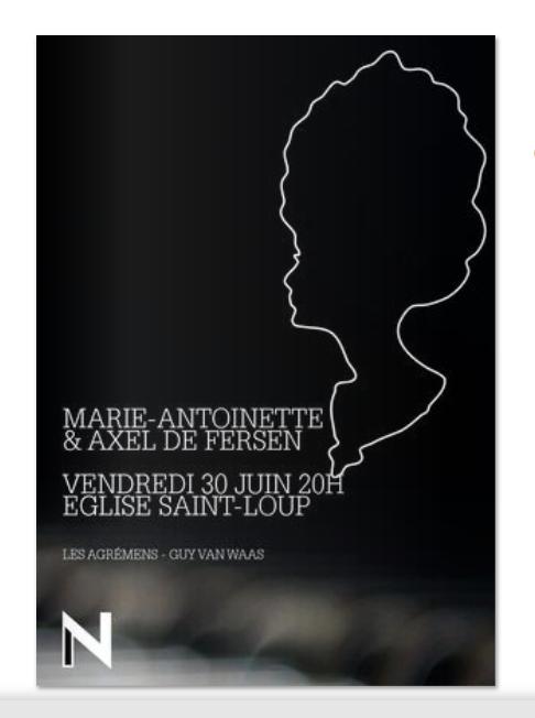 30 juin, église Saint-Loup, Marie-Antoinette & Axel de Fersen  Captur89