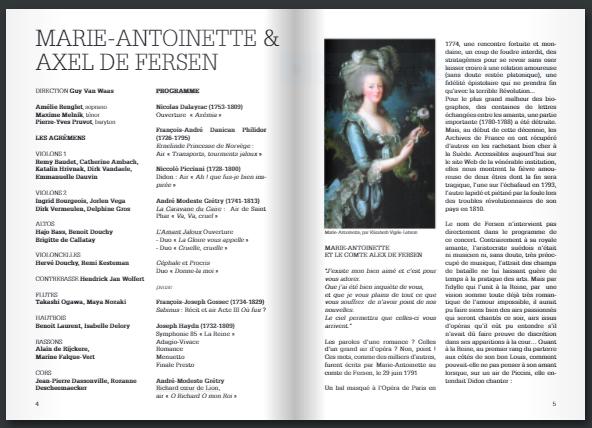 30 juin, église Saint-Loup, Marie-Antoinette & Axel de Fersen  Captur90