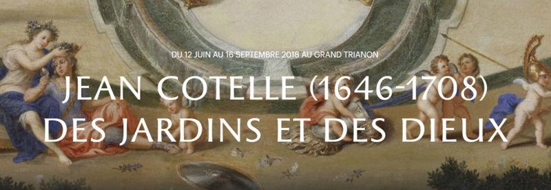 """Exposition au Grand Trianon, """" des Jardins et des Dieux """",  Jean Cotelle Captur91"""